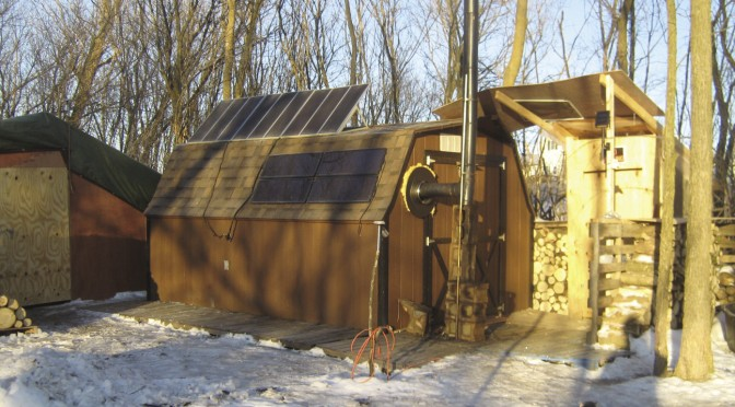Working my way up — Part 1: Living in  a storage shed