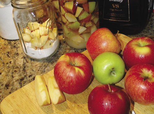 Apple pie brandy