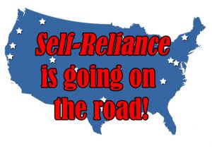 Self-Reliance is going on the road!