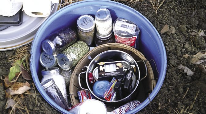 An old-school cache to store food and supplies