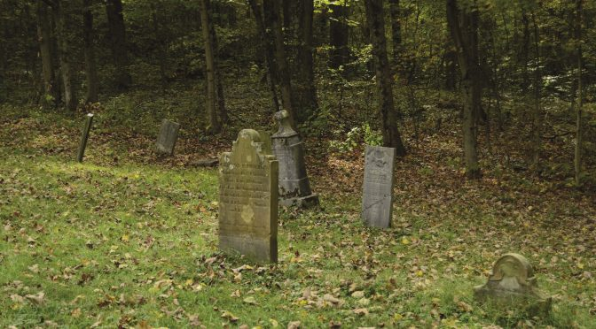 Establishing a legal family cemetery
